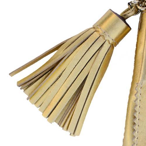 Bolso triana bag dorado