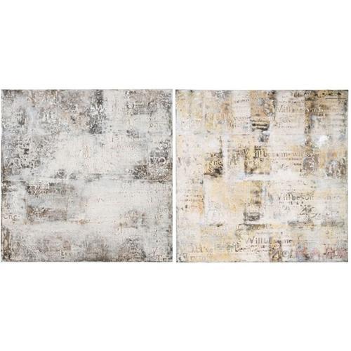 Cuadro Villa Letters 120x120 -varios