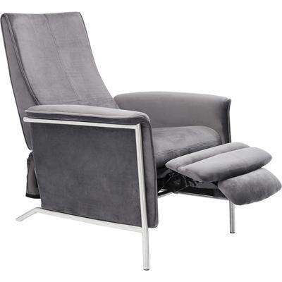 Sillón relax Lazy Velvet gris