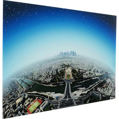 Cuadro cristal Planet Paris 100x150cm