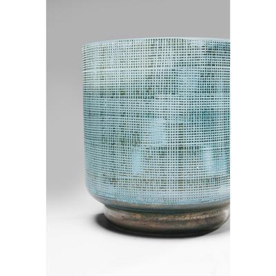 Vasija Jute azul claro 13cm