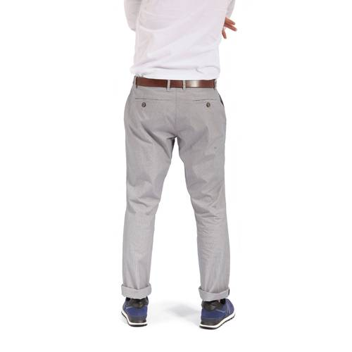 Pantalon  Chelsea Color Siete para Hombre-Gris