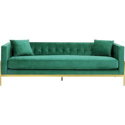 Sofá Loft 3 pl verde