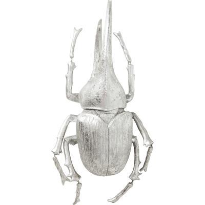 Decoración pared Herkules Beetle plata