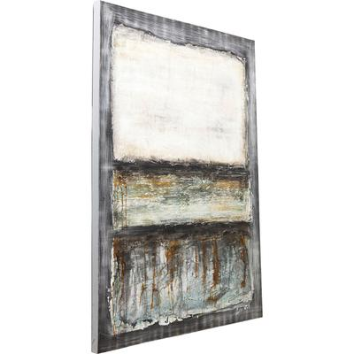Cuadro Abstract Grey Line One 150x120cm