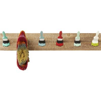 Perchero pared Paintbrush Party