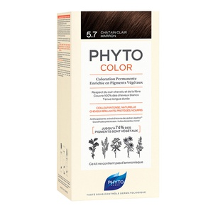 Phytocolor 5.7 Light Chestnut Brown 50ml