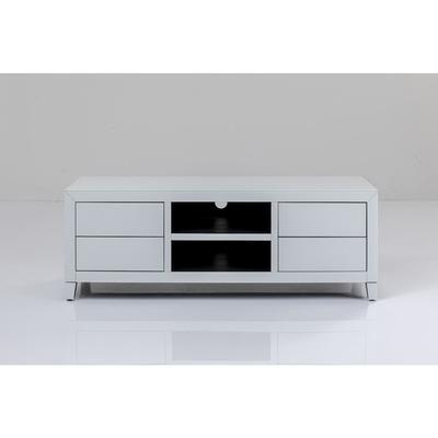 Cómoda baja Luxury Push blanco 140x50cm