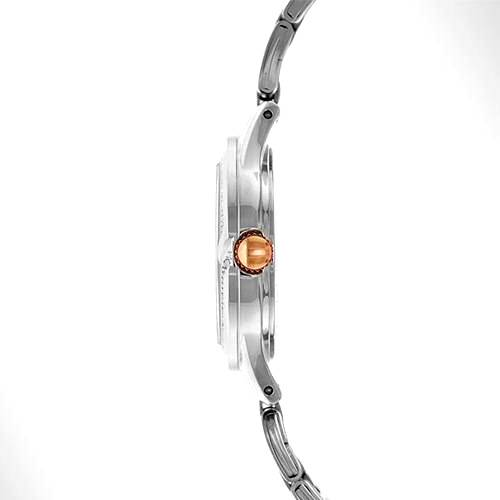 Reloj analógico negro-plateado 46-2