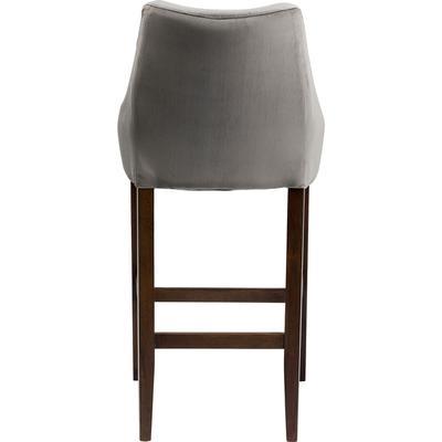 Taburete bar Mode Velvet gris