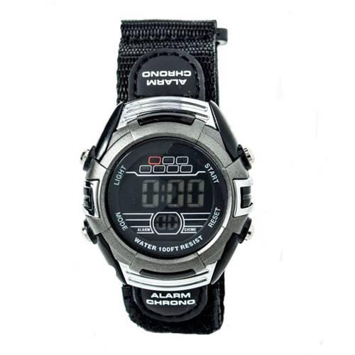 Reloj digital negro-negro G006