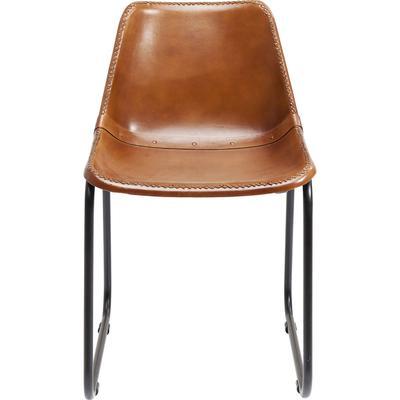 Silla Vintage piel marrón