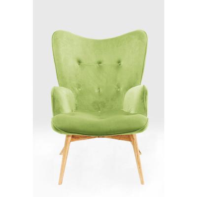 Sillón Vicky Velvet verde