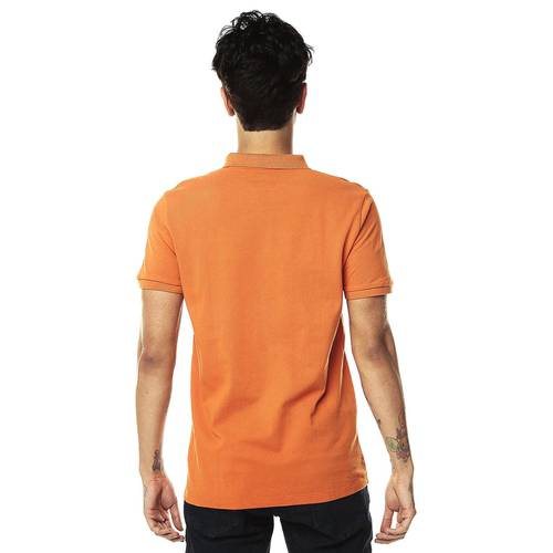 Polo Jack Supplies Para Hombre - Naranja