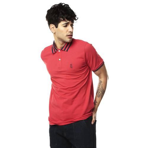Polo Jack Supplies Para Hombre - Rojo