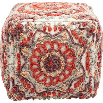 Taburete Arabian Flower Reddish