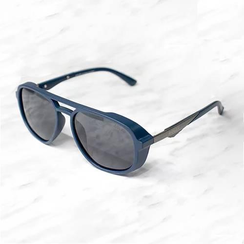 Gafas de sol polarizada con filtro UV 400 Negro Gris - Azul