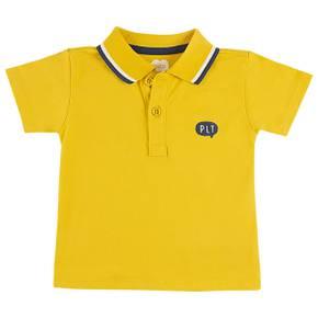 Camiseta tipo polo para bebé