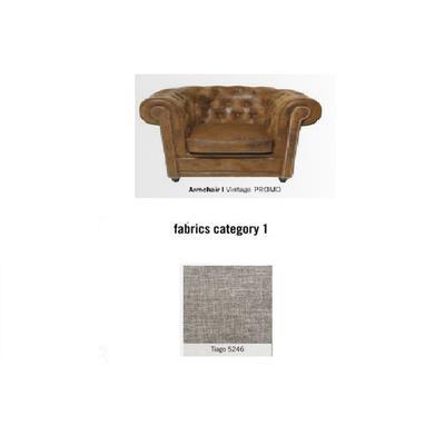 Poltrona Cambridge, tela 1 - Tiago   5246 (115x76x92cms)