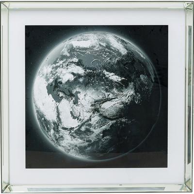 Cuadro espejo World View 80x80cm