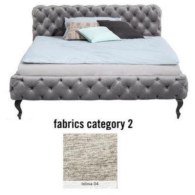 Cama Desire, tela 2 - Istinia 04,  (105x145x228cms), 120x200cm (no incluye colchón)