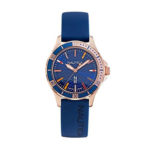 Reloj Marblehead Trophy Azul - Oro Rosa