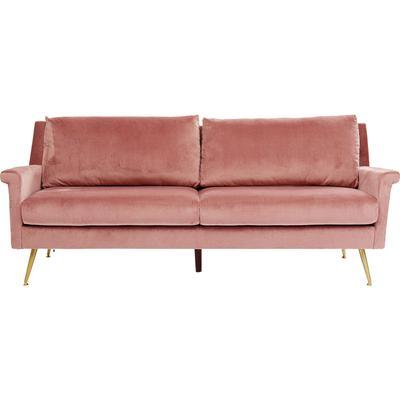 Sofá San Diego 3p rosa 210cm