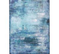 Cuadro Abstract azul 90x120cm