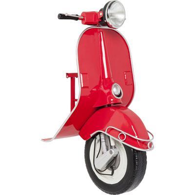 Lámpara pared Scooter rojo Econo LED