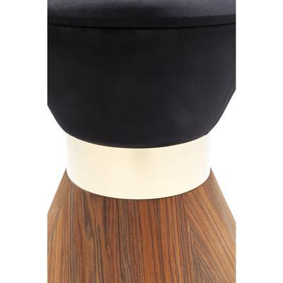 Taburete Lilly Taille negro Ø40cm
