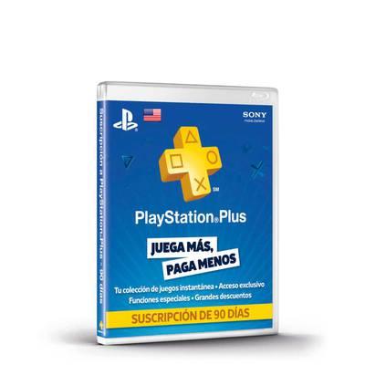 PlayStation Plus - Suscripción de 3 Meses