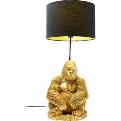 Lámpara mesa Monkey Gorilla oro