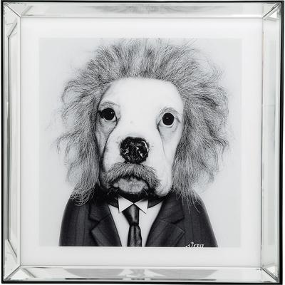 Cuadro Frame Mirror Smart Dog 60x60cm