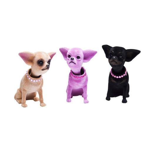 Figura balancín Chihuahua varios