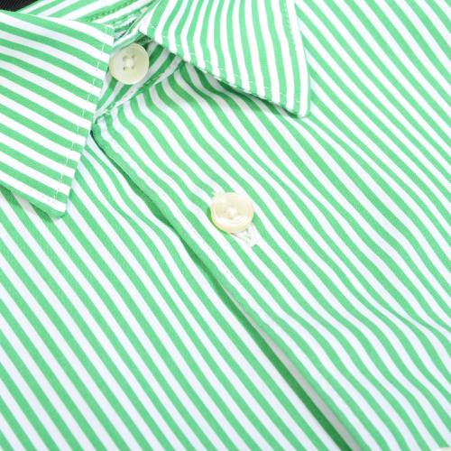 Camisa Manga Larga Thompson Color Siete para Hombre - Verde