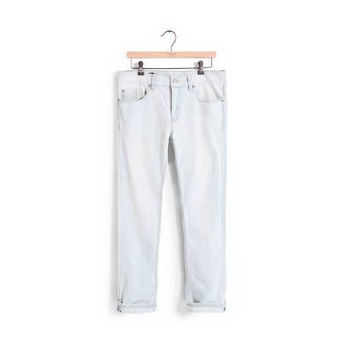 Jean Tribeca Color Siete para Hombre - Blanco