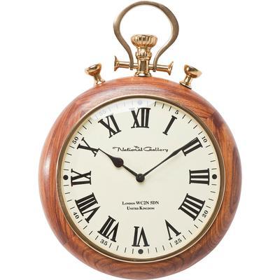 Reloj pared Pocket Wood