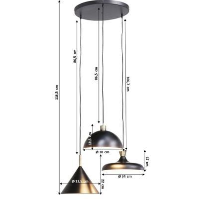 Lámpara Quick Step Spiral Ø45cm