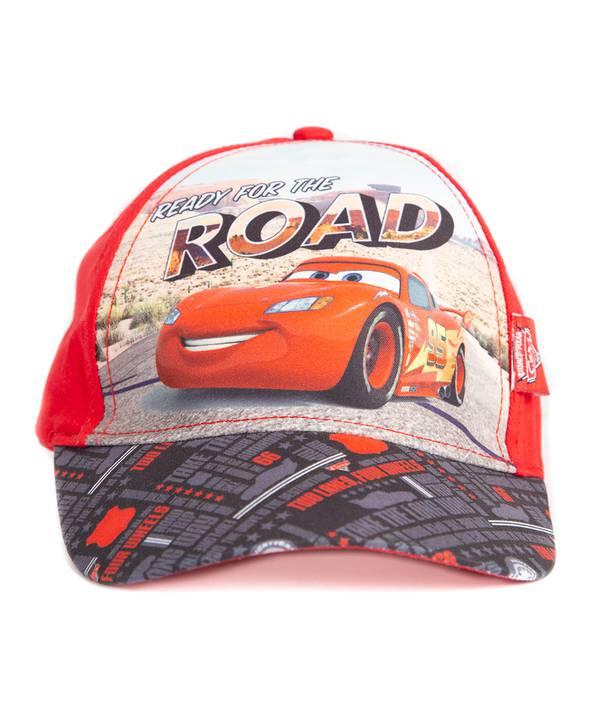Gorra Niño Cars Rojo