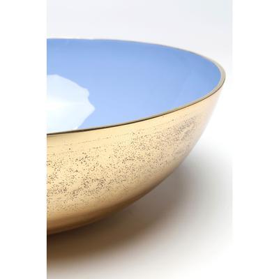 Cuenco Olala oro azul grande