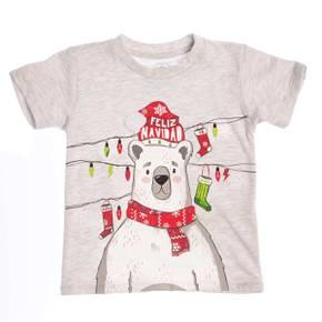 Camiseta navidad para niño