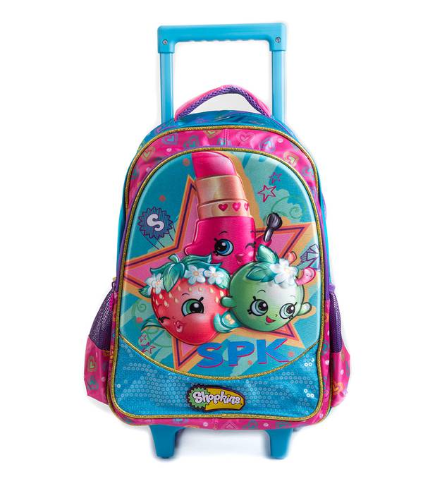 "MORRAL C/RUEDA 13"""" SHOPKINS"