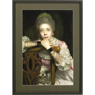 Cuadro Incognito Sitting Countess 112x82cm