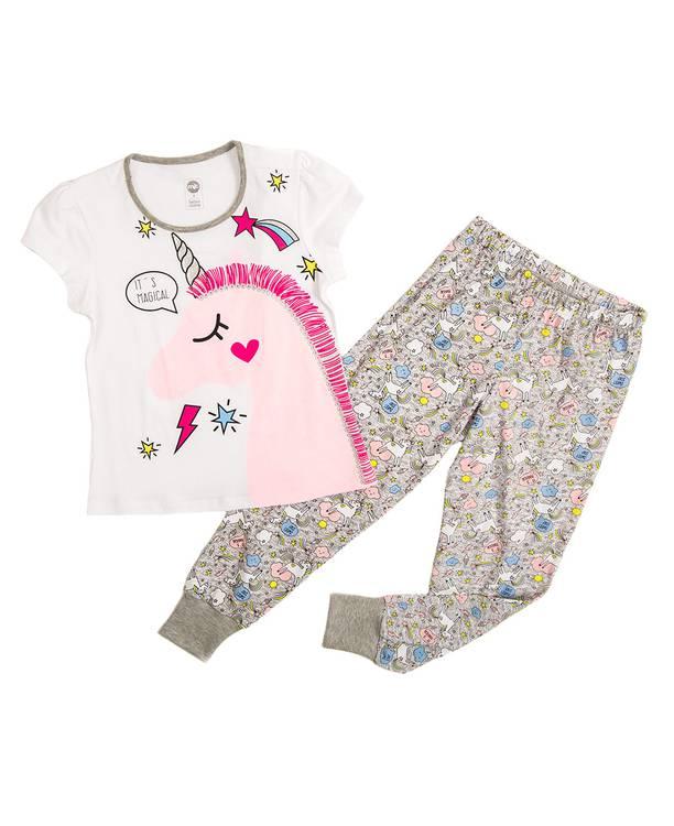Pijama Mc/Pl Caminadora mic