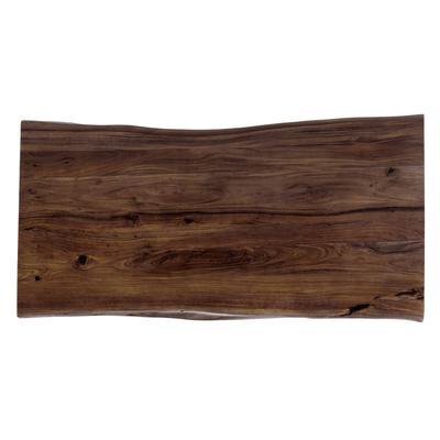 Plato Tavola nogal canto orgánico 220x100cm