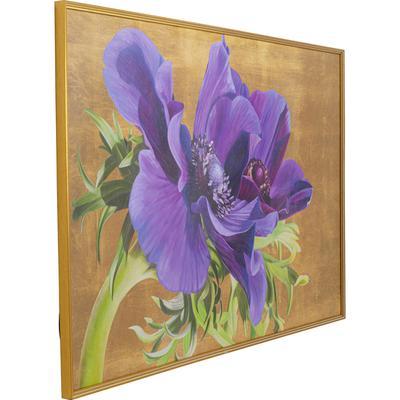 Cuadro enmarcado Violet 100x150cm