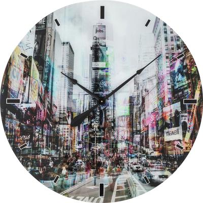 Reloj pared Glas Times Square  Ø80cm