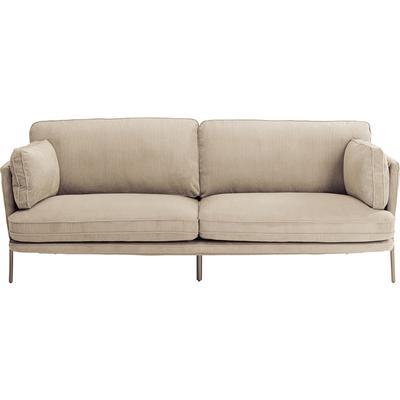 Sofá Shirly 3 pl crema 166cm