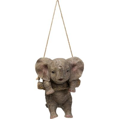 Objeto decorativo Swinging Elephant