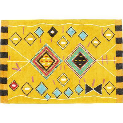 Alfombra Berber amarillo 170x240cm